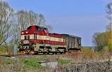 Lokomotiva 730 009-8, Mn 83450, Chlumec nad Cidlinou, 5.4.2008 13:54 - Trainweb
