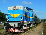 Lokomotiva 735 007-7, Os14909, Nové Město na Moravě, 8.7.2007 9:03 - Trainweb