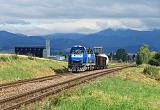Lokomotiva 736 005-0 + 736 008-4, Pn  (Vrútky – Zvolen), Diviaky – Turčianske Teplice, 10.7.2014 9:05 - Trainweb