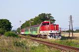 Lokomotiva 736 104-1, Os.5006  (Prievidza – Topoľčany – Nitra – Šurany – Nové Zámky), Jelšovce, 1.7.2012 18:25 - Trainweb