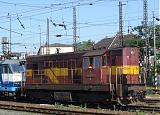 Lokomotiva 742 005-2, depo Bratislava hl.st., 8.6.2007 9:37 - Trainweb