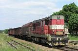 Lokomotiva 742 179-5, Mn 82732  (Havlíčkův Brod – Humpolec), Lípa, 26.5.2007 13:37 - Trainweb