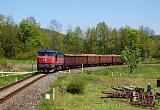 Lokomotiva 751 119-9, Mn 83233/2 (Javorník ve Slezsku – Velká Kraš – Lipová Lázně – Hanušovice), Žulová – Vápenná, 6.5.2011 12:57 - Trainweb