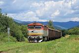 Lokomotiva 751 126-4, Mn, Vlachovo, 4.7.2016 11:01 - Trainweb
