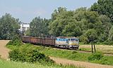 Lokomotiva 752 021-6, Mn 81241  (Humenné – Stakčín), Humenné – Hažín nad Cirochou, 26.7.2013 10:56 - Trainweb