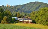 """Lokomotiva 754 060-2, R 934 """"Kyšperk""""  (Letohrad - Týniště nad Orlicí - Hradec Králové - Nymburk - Praha), Potštejn – Záměl, 1.6.2018 6:04 - Trainweb"""