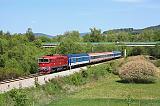 Lokomotiva 754 066-9, Sv 531  (Český Krumlov – Kájov), Kájov, 8.5.2018 11:06 - Trainweb