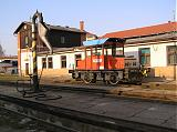 Lokomotiva 799 030-2, depo Havlíčkův Brod, 26.3.2007 16:38 - Trainweb