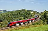 Lokomotiva 80-90 725, RJ 657, Eichberg am Semmering – Küb, 24.9.2014 14:39 - Trainweb