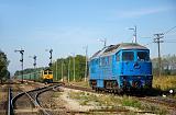 Lokomotiva BR 232-781 + 3 650 014-5, Lv, Rogoźnica, 2.10.2015 12:03 - Trainweb