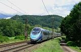 Lokomotiva ED250-001, Nex 94705 (Choceň – Bohumín), Brandýs nad Orlicí – Bezpráví, 12.7.2020 14:23 - Trainweb