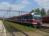 Lokomotiva EN 57-2035, osobní vlak do Międzylesie, Kłodzko Główne, 28.4.2007 12:25 - Trainweb