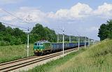 Lokomotiva EU07-128, nákladní vlak směr Węgliniec, Malczyce – Szczedrzykowice, 27.6.2020 15:45 - Trainweb