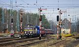Lokomotiva EU07-187, TME 664012 (Wróblin Głogowski – Lubin KGHM), Rudna Gwizdanów, 16.12.2019 12:19 - Trainweb