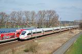 Lokomotiva ICE 4, ICE 694 (Stuttgart Hbf -Frankfurt(Main)Hbf-Leipzig Hbf -Berlin Gesundbrunnen), Trebbin - Thyrow, 20.3.2019 12:15 - Trainweb