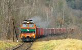 Lokomotiva M62-1208, TMS 664061 (Nowa Ruda-Słupiec – Ścinawka Średnia), Nowa Ruda-Słupiec – Ścinawka Średnia, 23.12.2019 11:41 - Trainweb