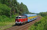 Lokomotiva SU 45-079, R 88909  (Krzyż  – Gorzów Wielkopolski – Kostrzyn), Krzyż – Stare Bielice, 1.8.2015 13:50 - Trainweb