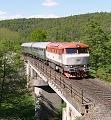 """Lokomotiva T 478 1006, R 1570 """"Rakovnický rychlík"""" (Rakovník – Beroun – Praha), Rakovník – Chlum u Rakovníka, 6.5.2018 15:47 - Trainweb"""