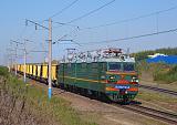 Lokomotiva VL80S-942, nákladní vlak, Otrožka – Pridača (Rusko, Voroněž), 13.9.2012 14:59 - Trainweb