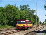 Motorový vůz 809 281-9, Os 19516  (Neratovice – Kralupy nad Vltavou), Úžice, 8.6.2014 14:30 - Trainweb