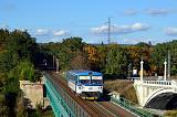 Motorový vůz 810 424-2, Os 7669  (Plasy – Plzeň), Plzeň-Bílá Hora – Plzeň hl.n., 16.10.2016 15:39 - Trainweb