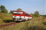 Motorový vůz 811 006-6, Os 3130, Stará Turá, 20.9.2009 16:00 - Trainweb