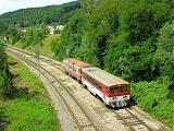 Motorový vůz 811 020-7, Os 5406, Mlichová Lehota, 23.6.2007 14:16 - Trainweb