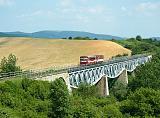 Motorový vůz 812 036-6, Os 9116  (Humenné – Strážske – Prešov), Hanušovce nad Topľou – Pavlovce, 30.5.2015 14:44 - Trainweb
