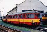 Motorový vůz 820 021-4, depo Kralupy nad Vltavou, 15.4.1997 12:17 - Trainweb