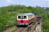 Motorový vůz 830 056-8, zvl.Os 39530  (Praha hl.n. – Praha-Smíchov – Praha.Jinonice – Praha-Zličín), Praha-Smíchov – Praha-Žvahov, 23.5.2010 16:09 - Trainweb