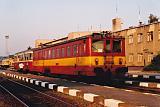Motorový vůz 831 058-3, Os 14808  (Znojmo – Moravské Budějovice – Okříšky), Znojmo, 16.8.1999 9:32 - Trainweb