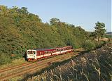 Motorový vůz 842 002-8, Sp 1732  (Veselí nad Moravou – Brno), Brankovice, 9.9.2008 17:49 - Trainweb