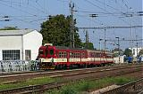 Motorový vůz 842 003-6, Os Břeclav - Znojmo, Břeclav, 14.9.2007 12:00 - Trainweb