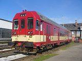 Motorový vůz 843 008-4, depo Liberec, 22.9.2007 9:44 - Trainweb