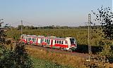 Motorový vůz 861 001-6, testovací jízdy, ŽZO Cerhenice, 2.10.2011 17:04 - Trainweb