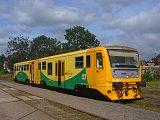 Řídící vůz 914 007-0, Os 25169, Broumov, 7.9.2007 14:07 - Trainweb