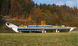 Vozidlo SPZ.5 + ASP.09/16-142, Služ 69900  (Kunčice pod Ondřejníkem – Valašké Meziříčí – Hranice na Moravě – Olomouc – Pardubice – Hradec Králové), Lupěné – Hoštejn, 31.10.2009 11:02 - Trainweb